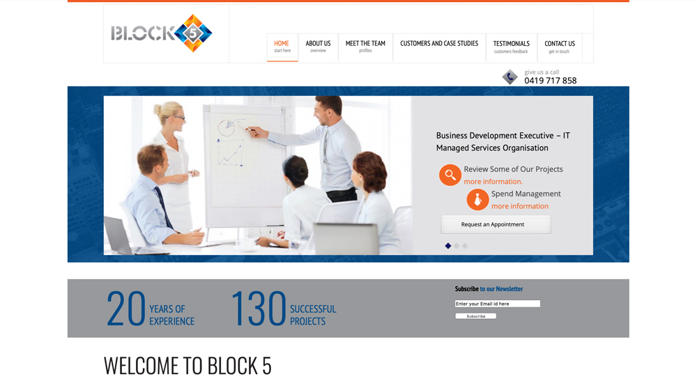 Block 5 Consulting old site