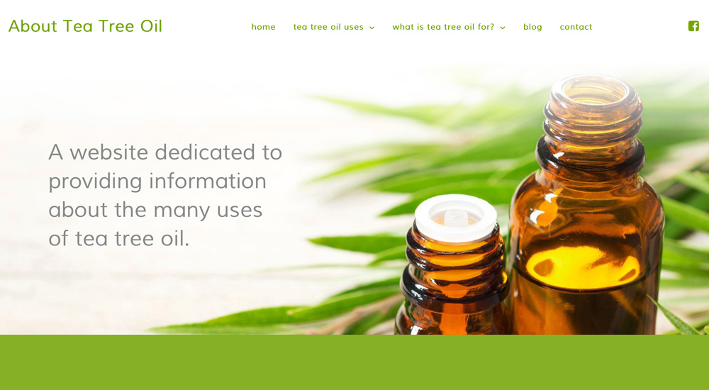 About Tea Tree Oil