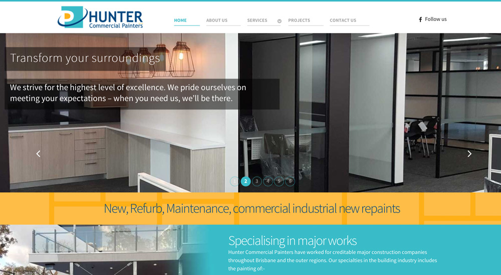 Hunter Commercial Painters