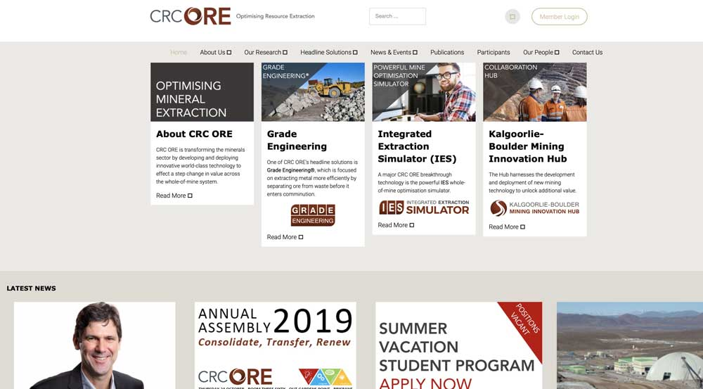 CRC ORE old site